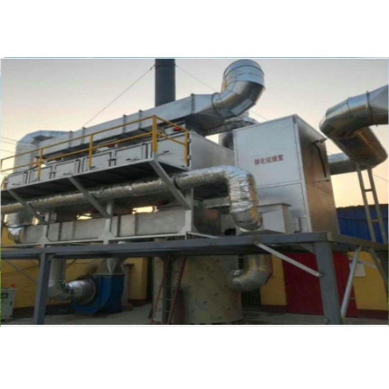 活性炭吸附浓缩催化燃烧装置